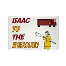 Isaac to the Rescue Rectangle Magnet