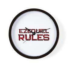 ezequiel rules Wall Clock