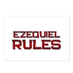 ezequiel rules Postcards (Package of 8)