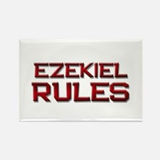ezekiel rules Rectangle Magnet