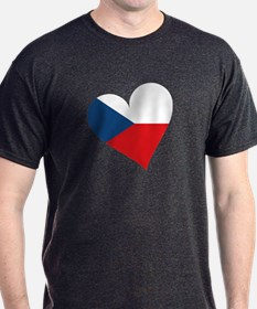 Czech Heart T-Shirt