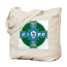 Eire Cross Tote Bag
