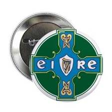 Eire Cross Button