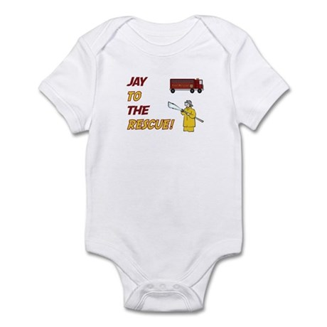 Jay to the Rescue Infant Bodysuit