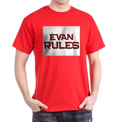 evan rules T-Shirt