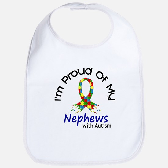 Proud Of My Autistic Nephews 1 Bib