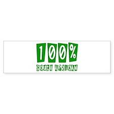 100% South African Bumper Bumper Sticker