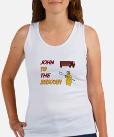 John to the Rescue Women's Tank Top