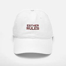 esther rules Baseball Baseball Cap