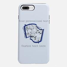Music iPhone 7 Plus Tough Case