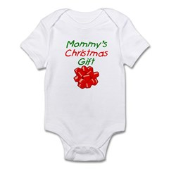 Mommy's Christmas Gift Infant Creeper