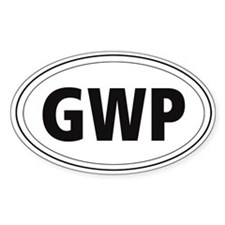 German Wire-haired Pointer (GWP) Oval Decal