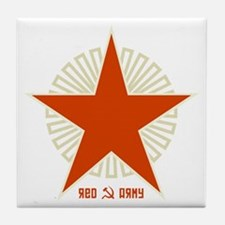 Soviet Red Army Tile Coaster