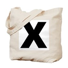Unique Straight edge Tote Bag