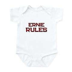 ernie rules Infant Bodysuit