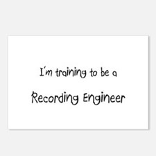 I'm training to be a Recording Engineer Postcards