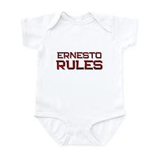 ernesto rules Infant Bodysuit