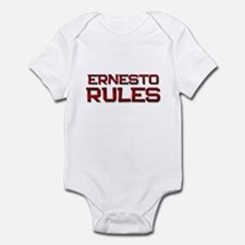 ernesto rules Infant Bodysuit
