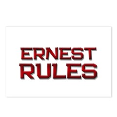 ernest rules Postcards (Package of 8)