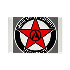 Cute Anarchism Rectangle Magnet