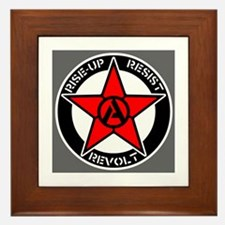 Cool Lenin Framed Tile