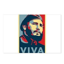 Cute Fidel castro Postcards (Package of 8)