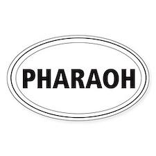Pharaoh Hound Oval Decal