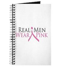 Real Men Wear Pink (Ribbon) Journal