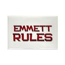 emmett rules Rectangle Magnet