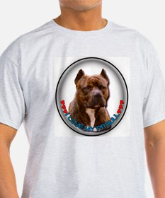 Pitbull Love T-Shirt