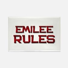 emilee rules Rectangle Magnet