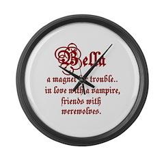 Bella Large Wall Clock