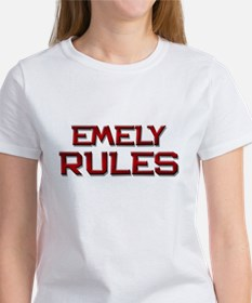 emely rules Tee