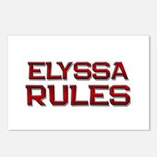 elyssa rules Postcards (Package of 8)