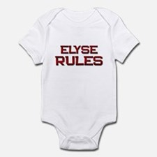 elyse rules Infant Bodysuit