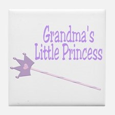 Grandma's Princess Tile Coaster