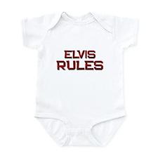 elvis rules Infant Bodysuit