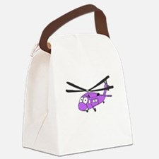 UH-60 Purple.PNG Canvas Lunch Bag