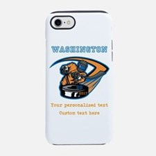 Hockey Personalized iPhone 7 Tough Case
