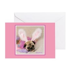 Pink Annie Easter Greeting Card