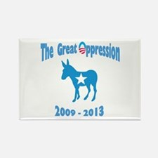 Cute Government oppression Rectangle Magnet