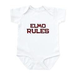 elmo rules Infant Bodysuit