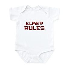 elmer rules Infant Bodysuit