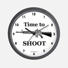Rifle Wall Clock