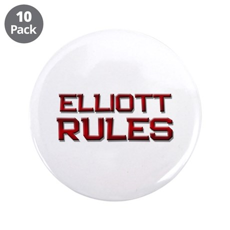 "elliott rules 3.5"" Button (10 pack)"