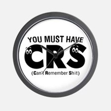 You Must Have CRS Wall Clock