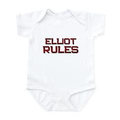 elliot rules Infant Bodysuit