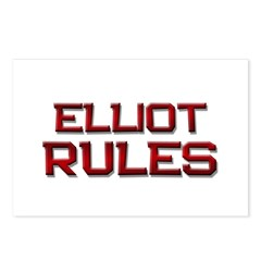 elliot rules Postcards (Package of 8)