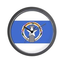 NORTHERN MARIANA Flag Wall Clock