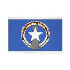 NORTHERN MARIANA Flag Rectangle Magnet
